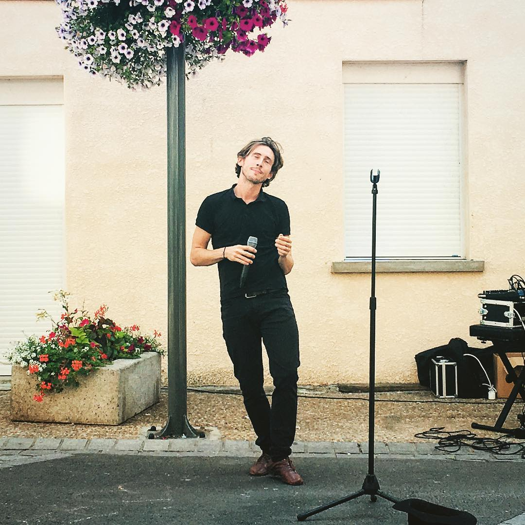 Allan Vermeer concert plein air