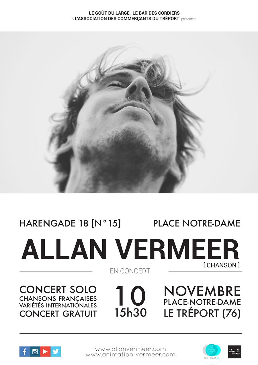 Allan Vermeer en concert au Tréport