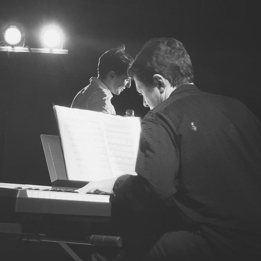 Concert piano voix - Allan Vermeer & Bertrand Ravalard