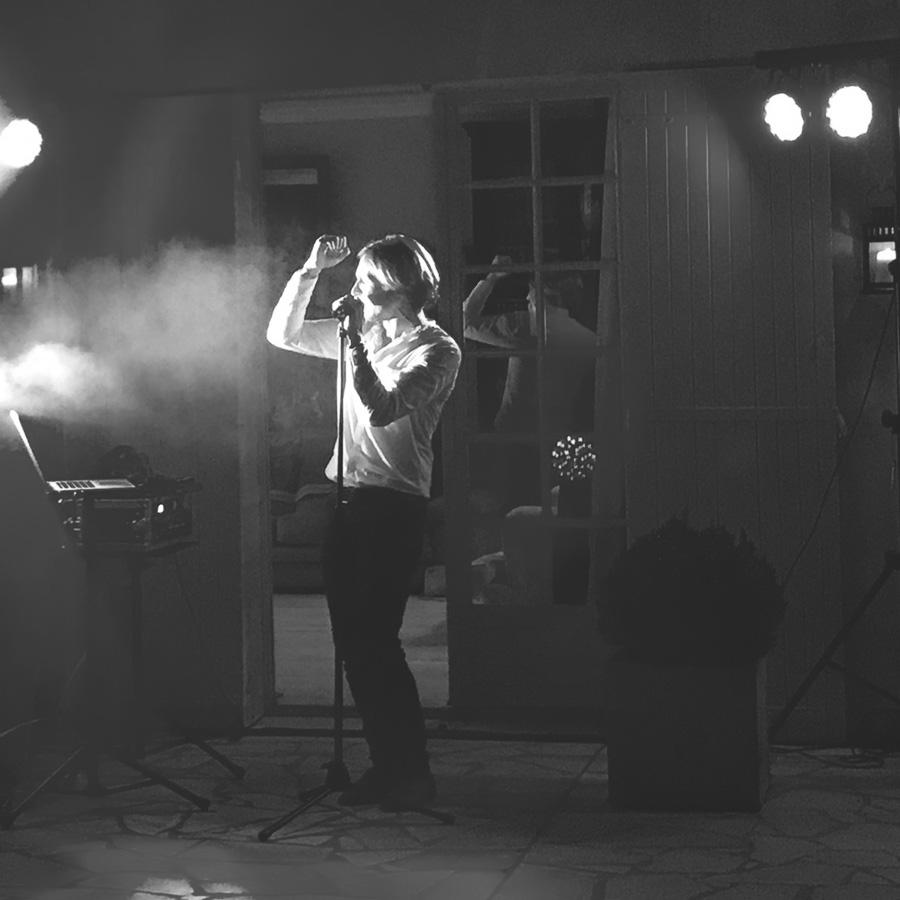 Allan Vermeer en concert privé Jazzy