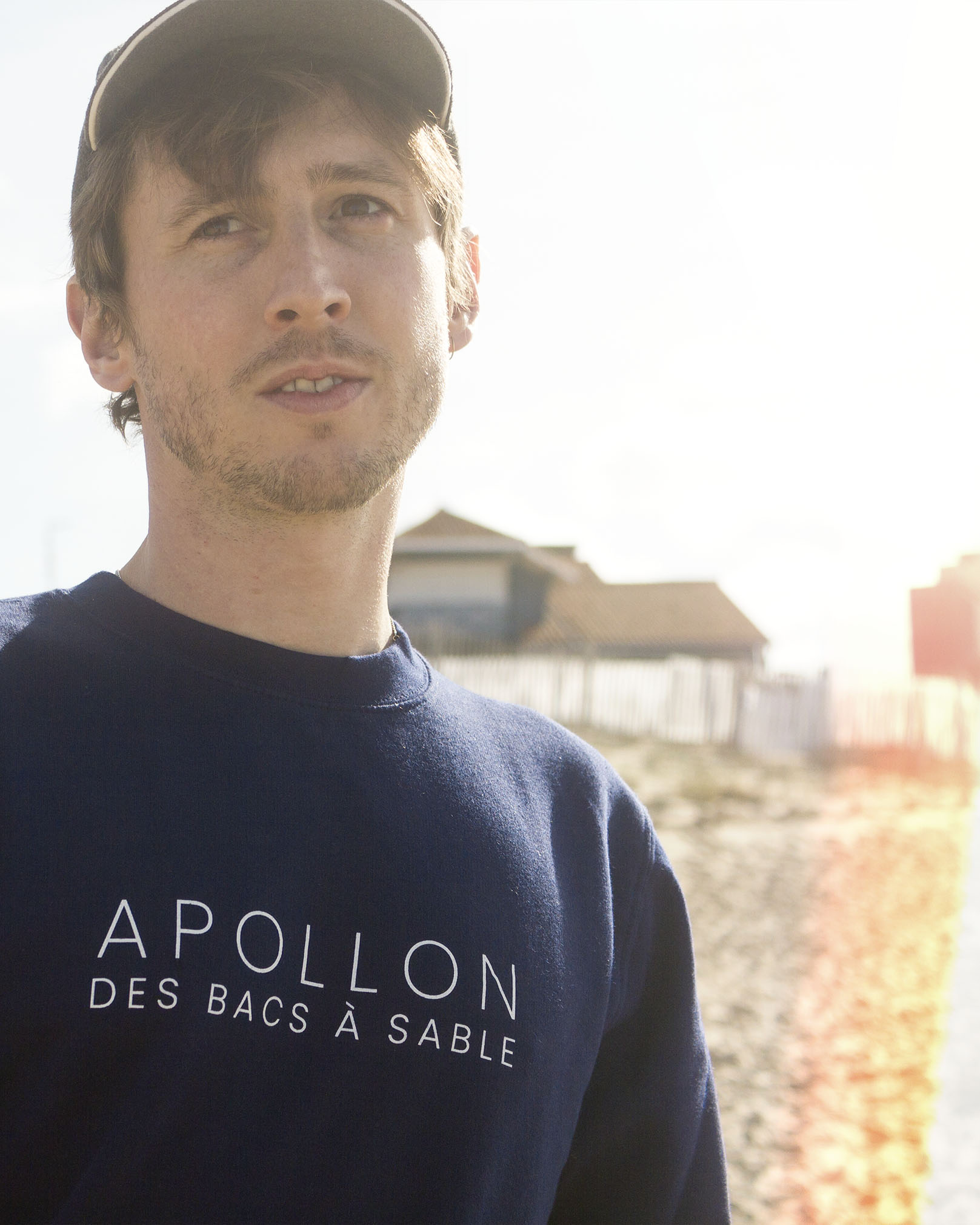 Sweat-shirt APOLLON DES BACS À SABLE (Allan Vermeer)