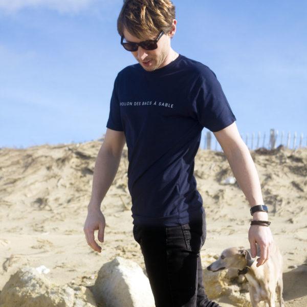 Tee-shirt APOLLON DES BACS À SABLE (Allan Vermeer)